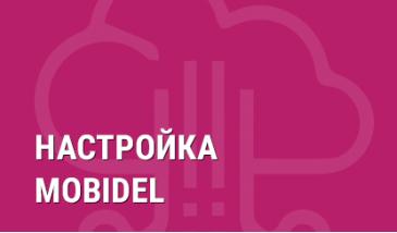 Настройка Mobidel